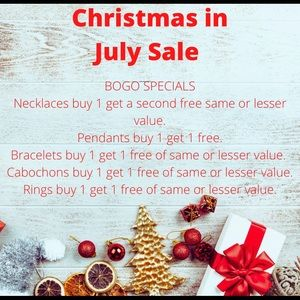 Early Christmas in July Sale